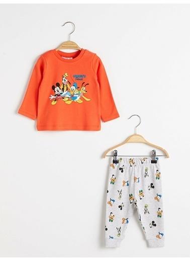LC Waikiki Pijama Takım Oranj